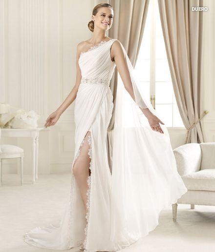 Abito da sposa stile dea greca