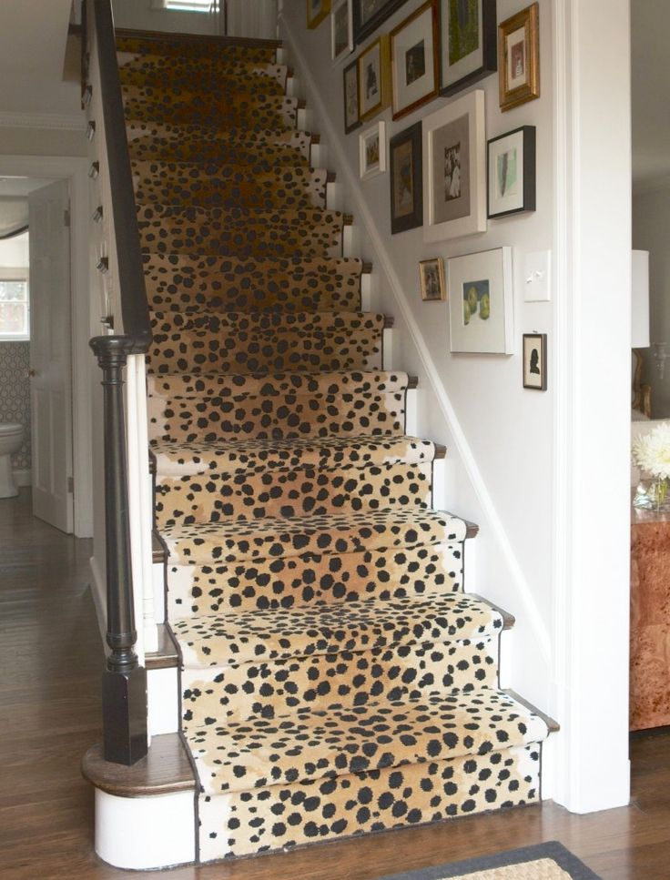 """""""No Regrets"""" why do I love these steps! Idea for Basement steps after family room is done"""