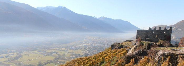Castel Grumello - Montagna in Valtellina - Sondrio  © Lucia Cattoni