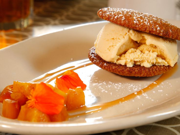 The 25 best butterscotch ice cream ideas on pinterest chocolate butterscotch ice cream sandwiches with molasses cookies and caramelized pineapple forumfinder Image collections