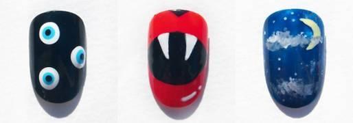 Fixa snygga naglar till Halloween - Modette / Skönhet