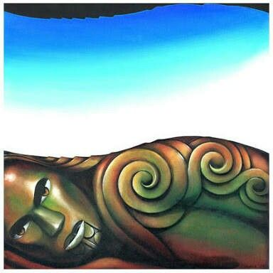 Papatuanuku - Earth mother of Māori creation tradition story.