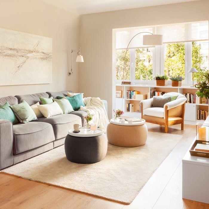 Las 25 mejores ideas sobre salones peque os en pinterest - Como decorar un salon pequeno ...