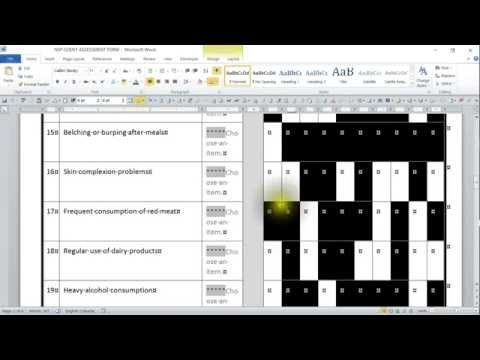 Record Macro to Change Shading in Microsoft Word