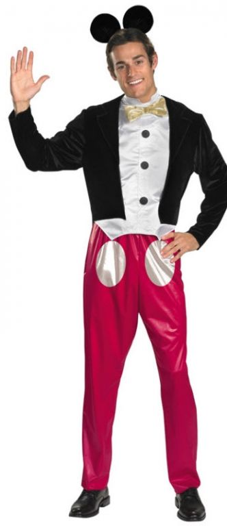 Men's Mickey Mouse Costume - Adult Costumes