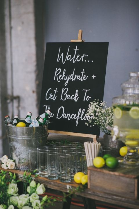 Mat & Alicia / Chic Warehouse Wedding - Sydney / The Lane. Photographer Courtney Illfield. #wedding Hire #YourEventSolution