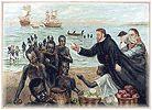Este cuadro representa la esclavitud de muchos Africanos que eran transportados por los Europeos hasta America.