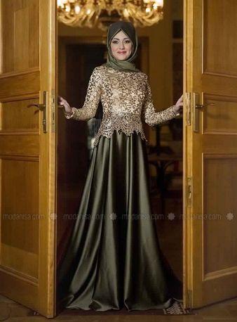 Robe de soiree islamique pas cher