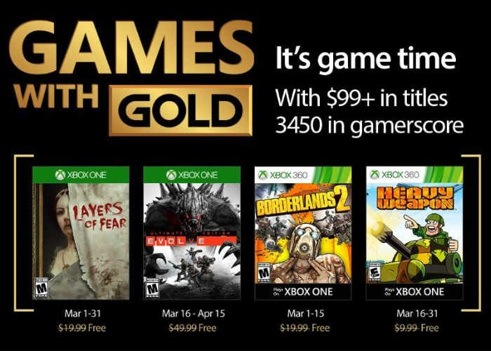 March 2018 Xbox free games Microsoft brings March 2018 Xbox free games to the Xbox players with Xbox live gold subscriptions that can start soon. In the deal, the Xbox 360 and Xbox One services are each getting two free games. While, Xbox One players can access all four titles most of the t...