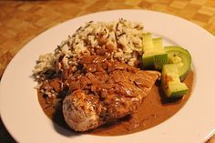 Hühnerfilet in Zwiebel - Balsamico - Sauce 1