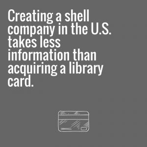 A pair of recently introduced bills in the United States Senate and the House of Representatives would strike a blow against illicit finance in the United States and around the world by ending the anonymity provided by incorporating anonymous shell corporations. Currently US state governments control incorporation but many of them do not collect or monitor the ownership of their registered entities. The bills are backed by lawmakers in both parties and groups from across the political…