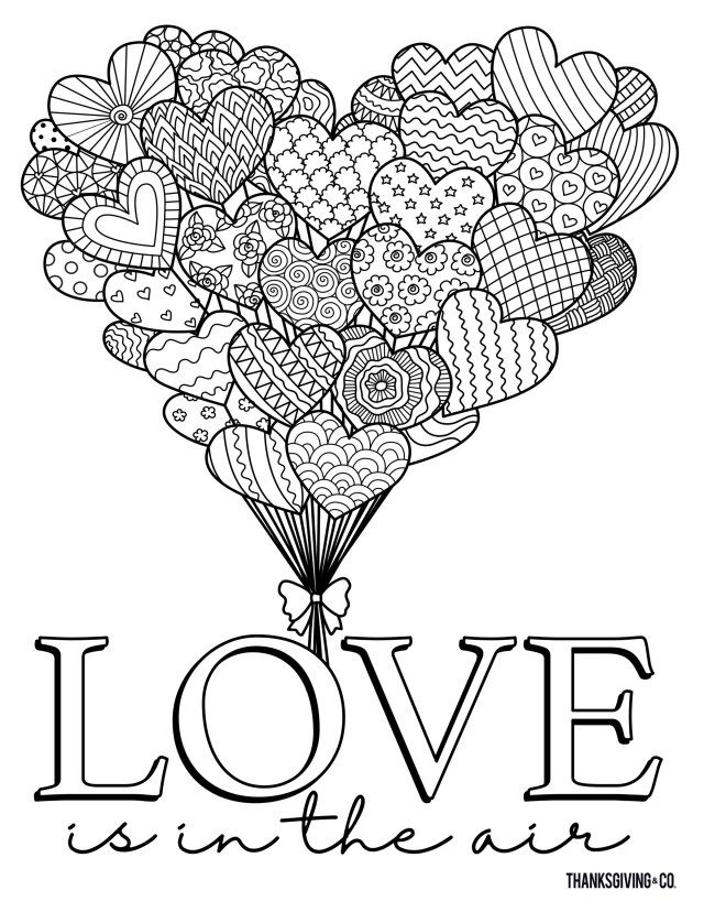 21 Amazing Image Of Adult Coloring Pages Valentines Day