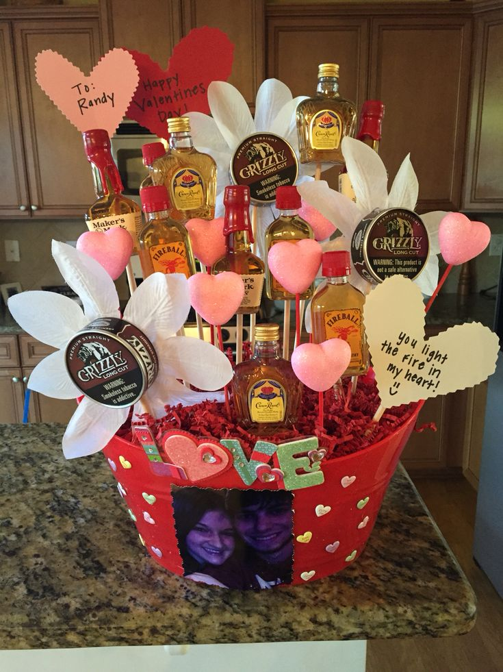 Man bouquet for my country boy!!! Valentine's Day :)