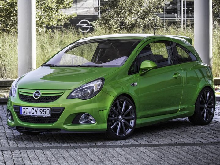 Opel Corsa D OPC Nurburgring Edition