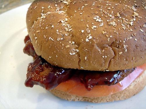 Chori burger recipe.