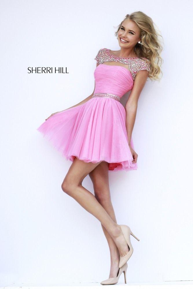 Gemütlich Sherri Hügel Cocktailkleid 2014 Bilder - Brautkleider ...