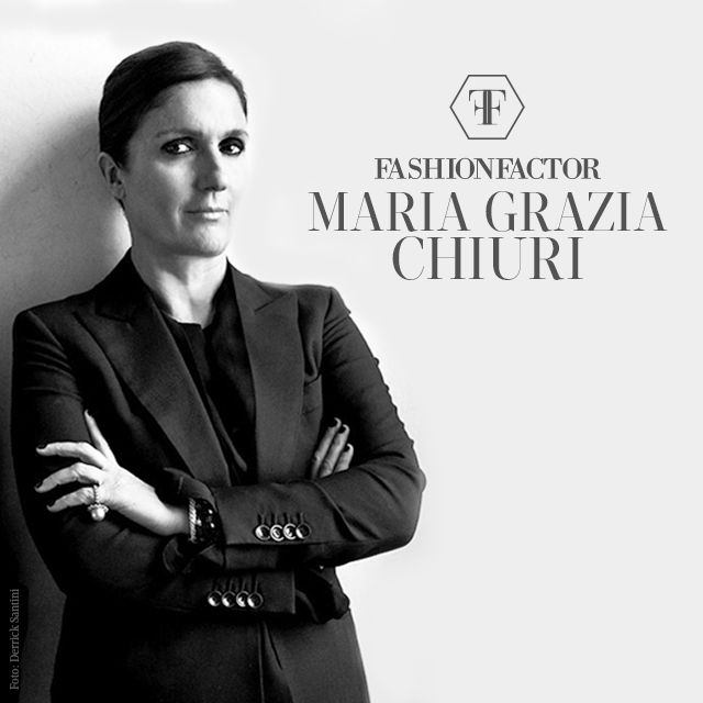 Maria Gracia Chiuri is the new director of Dior house.This amazing women owns a contemporary Classic style. Go to FashionFActor.me and discover why.