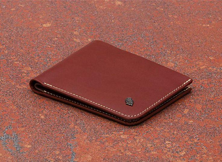 Bellroy's new Hide and Seek wallet in divine Cognac. Yay or Nay?