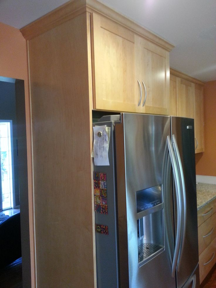 Bridgewood Advantage, Mission Door Style, Wheat Stain Color. Stain ColorsCustom  CabinetsCustom CabinetryCustom Closets