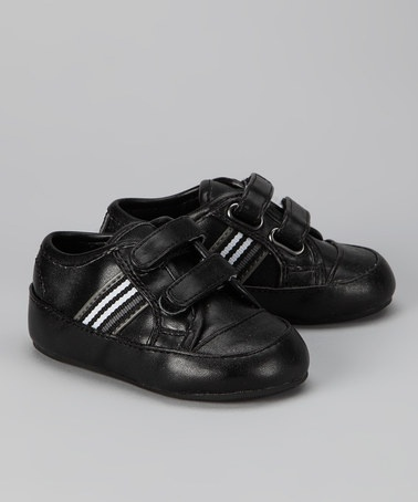 Take a look at this Black Calvin Sneaker by Barefoot Walking on #zulily today!