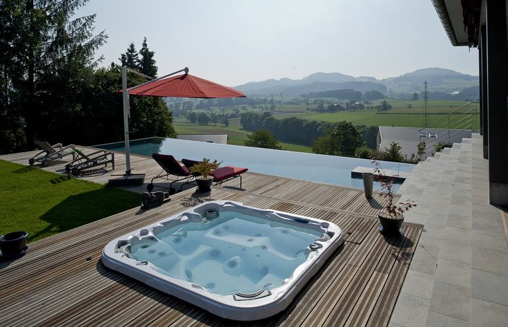 27 best images about Détente totale on Pinterest Coins, Chalets and Sons # Jacuzzi Bois Exterieur Pour Terrasse