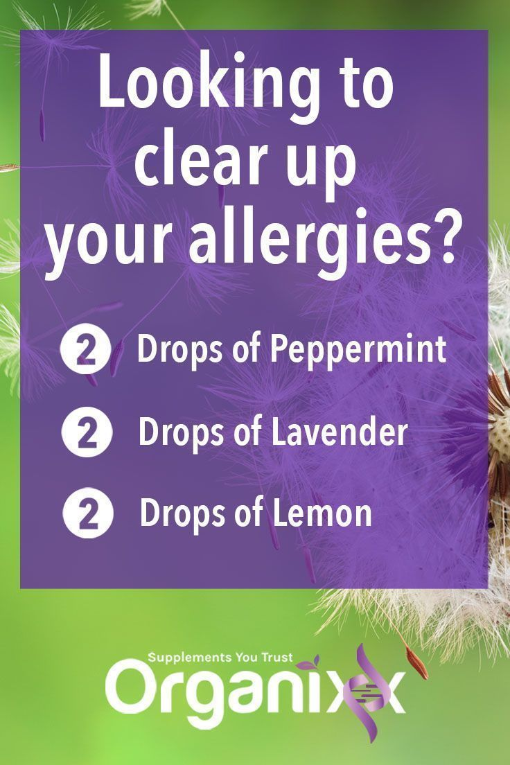 NATURAL ALLERGY RELIEF: I don't know about you but my sinuses have started acting up. Here is how to use your Organixx essential oils to help clear up allergies. Click on the image for more on essential oils! || Essential oil uses | Peppermint, lavender and lemon uses | DIY Allergy remedy | Natural healing #Organixx #Organixxhealthtip #esentialoils #remediesforallergies #asthmarelief #naturalasthmarelief #essentialoil