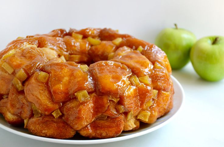 Transform store-bought biscuits into a quick and easy recipe for monkey bread layered with caramel and fresh apples.