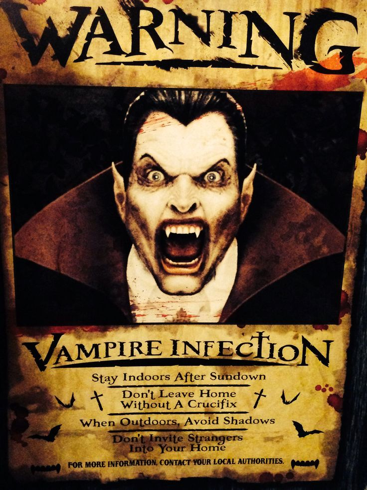 vampires are roaming halloween decor - Vampire Halloween Decorations
