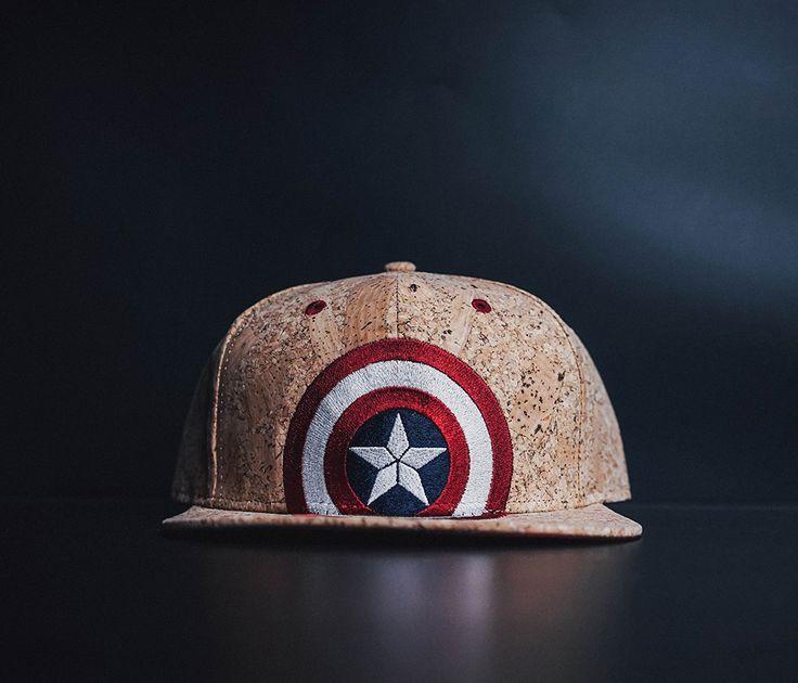 awesome Snapback Baseball Cap Hat Captain America Star