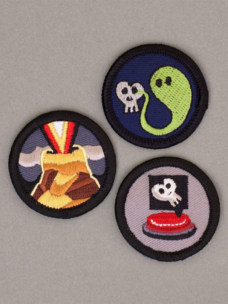 Evil Merit Badges by Evil Supply Co.