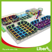 Source professional costco used huge cheap indoor&outdoor games gymnastics trampolines park with ball pool,foam pit for sale LE.BC.067 on m.alibaba.com