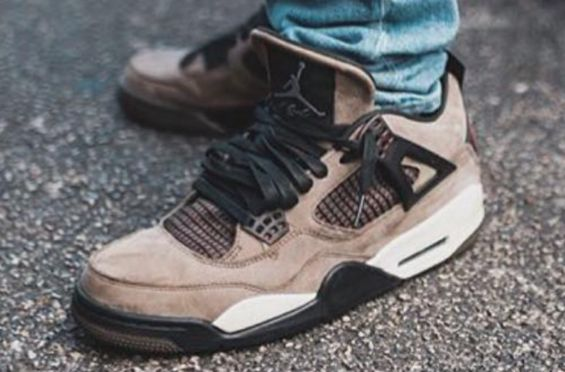 535fcb67bfe What Do You Think About The Travis Scott x Air Jordan 4 Olive? | Air Jordans  | Air jordans, Sneakers, Jordans