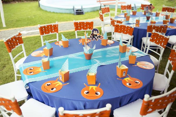 Slugterra party | CatchMyParty.com