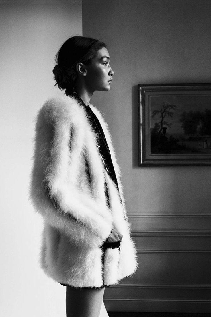 Gigi Hadid by Camilla Åkrans for Vogue Germany, May 2016