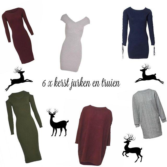 6 X MOOIE KERST JURKEN EN TRUIEN  fashion kerst