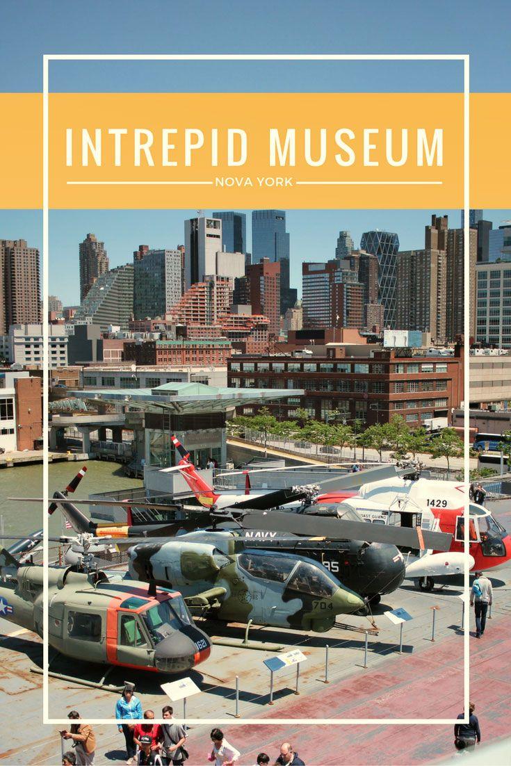 Imagine aviões, helicópteros, um submarino, um ônibus espacial e um porta-aviões em um único museu! Conheça o U.S.S. Intrepid, em Nova York, o porta-aviões que virou museu e abriga também um dos quatro únicos ônibus espaciais em exibição nos EUA.