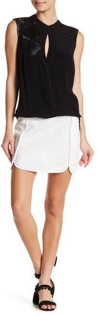 Liberty Garden Crochet Eyelet Skirt