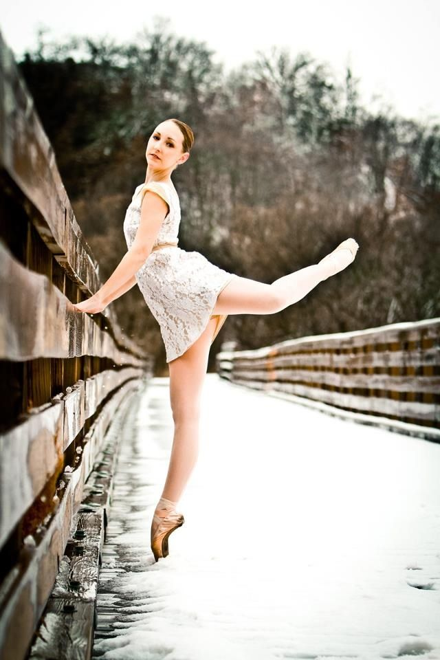 """ballet in winter. photo credit Stephanie Williams """"You've Been Framed Photography"""""""