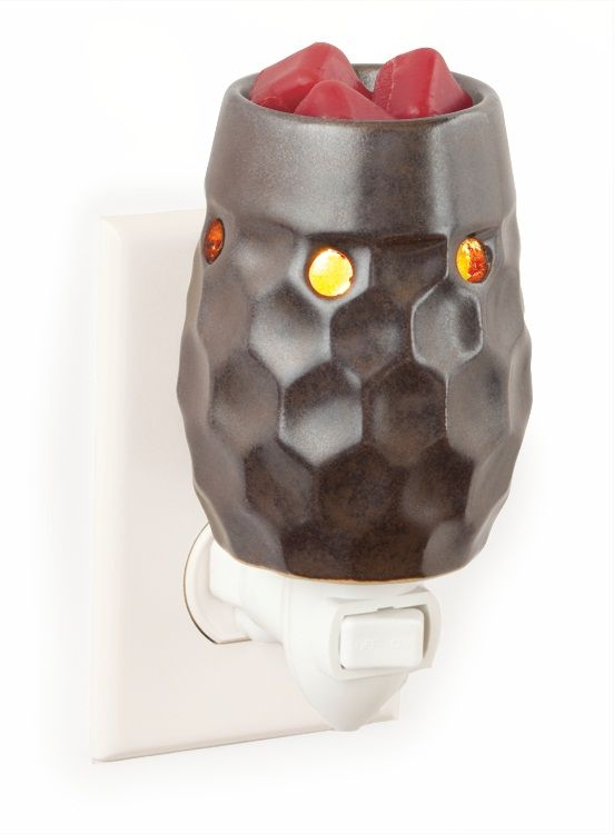 Honeycomb Metallic Plug-in Fragrance Warmer: Metals Plugin, Melter Tarts, Candles Warmers, Fragrancetart Warmers, Metals Plugs, Honeycombs Metals, Chestnut Honeycombs, Honeycombs Chestnut, Fragrance Warmers