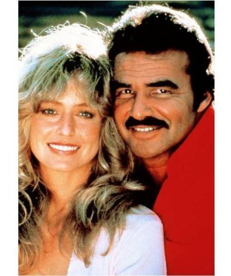 Farrah Fawcett and Burt Reynolds