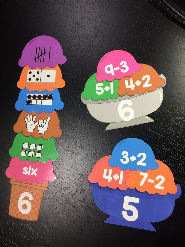 SCOOPING UP NUMBER SENSE~math center~ This math center is exactly what you need to provide your students with extra practice with early number sense skills. Students will match each of the ice cream scoops to the appropriate number. ICE CREAM SUNDAES numbers 1 to 20 includes 60 addition and subtraction scoops, a great way to review and reinforce addition and subtraction skills. ICE CREAM CONE: you get 120 scoops Ice Cream Cones 1 to 10 includes scoop represented in 6 different ways.