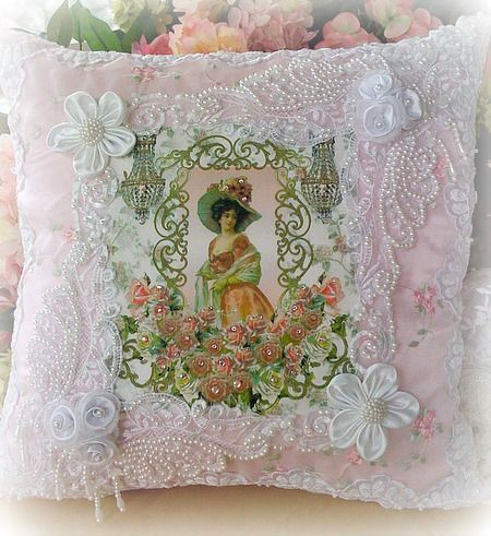 17 Best images about Victorian Accent Pillows on Pinterest Victorian christmas, Victorian and ...