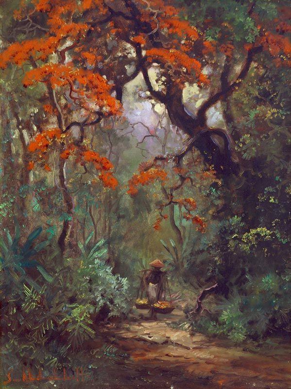 Sudjono Abdullah - Flamboyant di Hutan