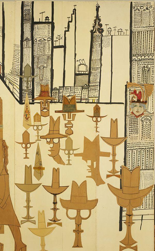 Saul Steinberg's Forgotten Masterpiece