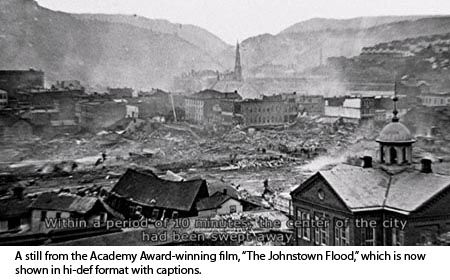 The Johnstown Flood Museum.