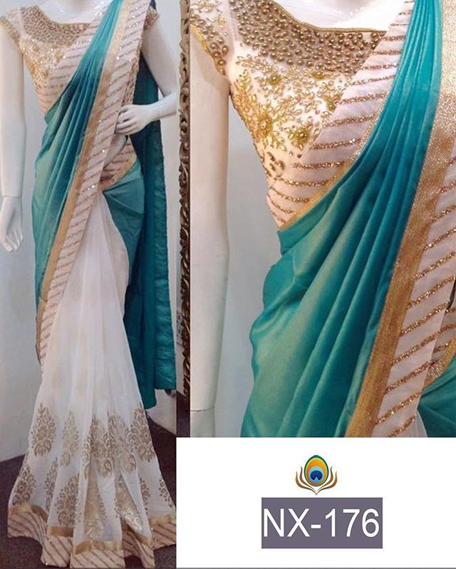 Aqua blue and white Saree To purchase this product mail us at houseof2@live.com or whatsapp us on +919833411702 for further detail #sari #saree #sarees #sareeday #sareelove #sequin #silver #traditional #ThePhotoDiary #traditionalwear #india #indian #instagood #indianwear #indooutfits #lacenet #fashion #fashion #fashionblogger #print #houseof2 #indianbride #indianwedding #indianfashion #bride #indianfashionblogger #indianstyle #indianfashion #banarasi #banarasisaree