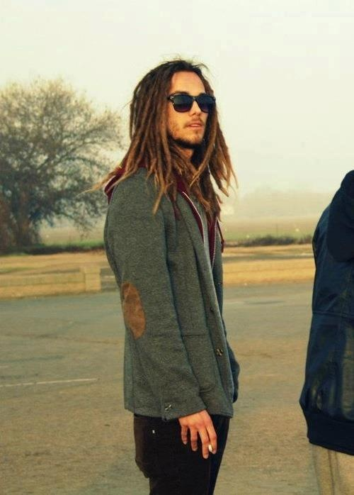 yes, elbow patches and dreads..