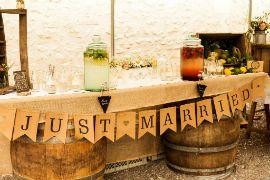 Bar Mariage champêtre Alexa réception Wedding planner  Centre France