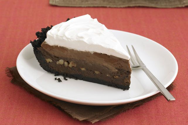 Le paradis dans une assiette, et un succès assuré! Des étages de chocolat mi-sucré BAKER'S, de pouding au chocolat JELL-O et de garniture COOL WHIP onctueuse.