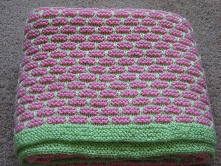 Free Finger Knitting Patterns : free knitting baby blanket patterns - Google Search n e e d l e s & h o...